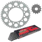 Steel Sprockets and JT HDR Chain - Derbi GPR 50 (2004-2005)